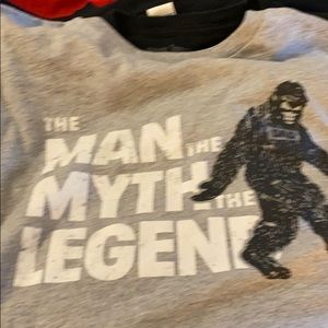 Big foot tee shirt